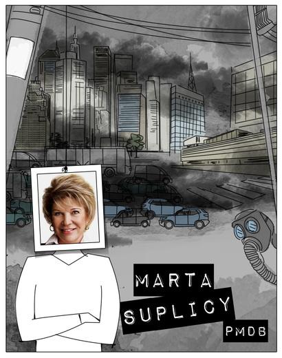 Marta dá muitas declarações negativas nas primeiras sabatinas
