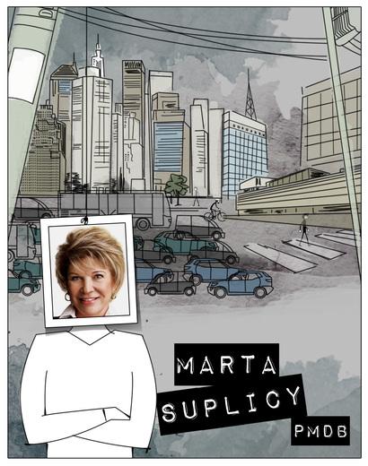 Marta revela de vez propostas de retrocessos